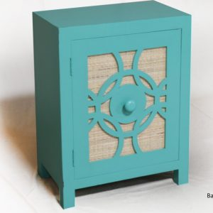 Bayou side table painted