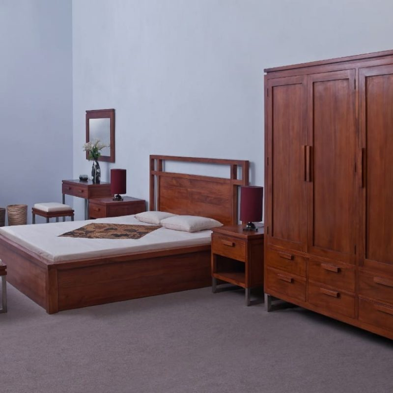 ALOR BEDROOM SET. Find us more contact u...