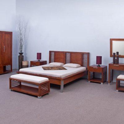 DILI BEDROOM SET. Furniture made in Indo...