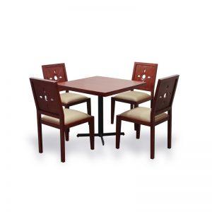 Frangi Dining Set Material Mahogany Wood